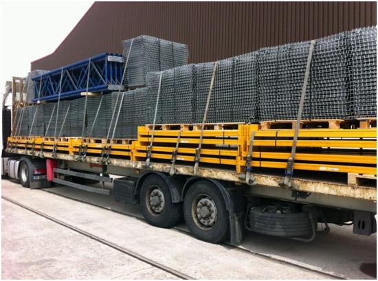 transport racks palettes